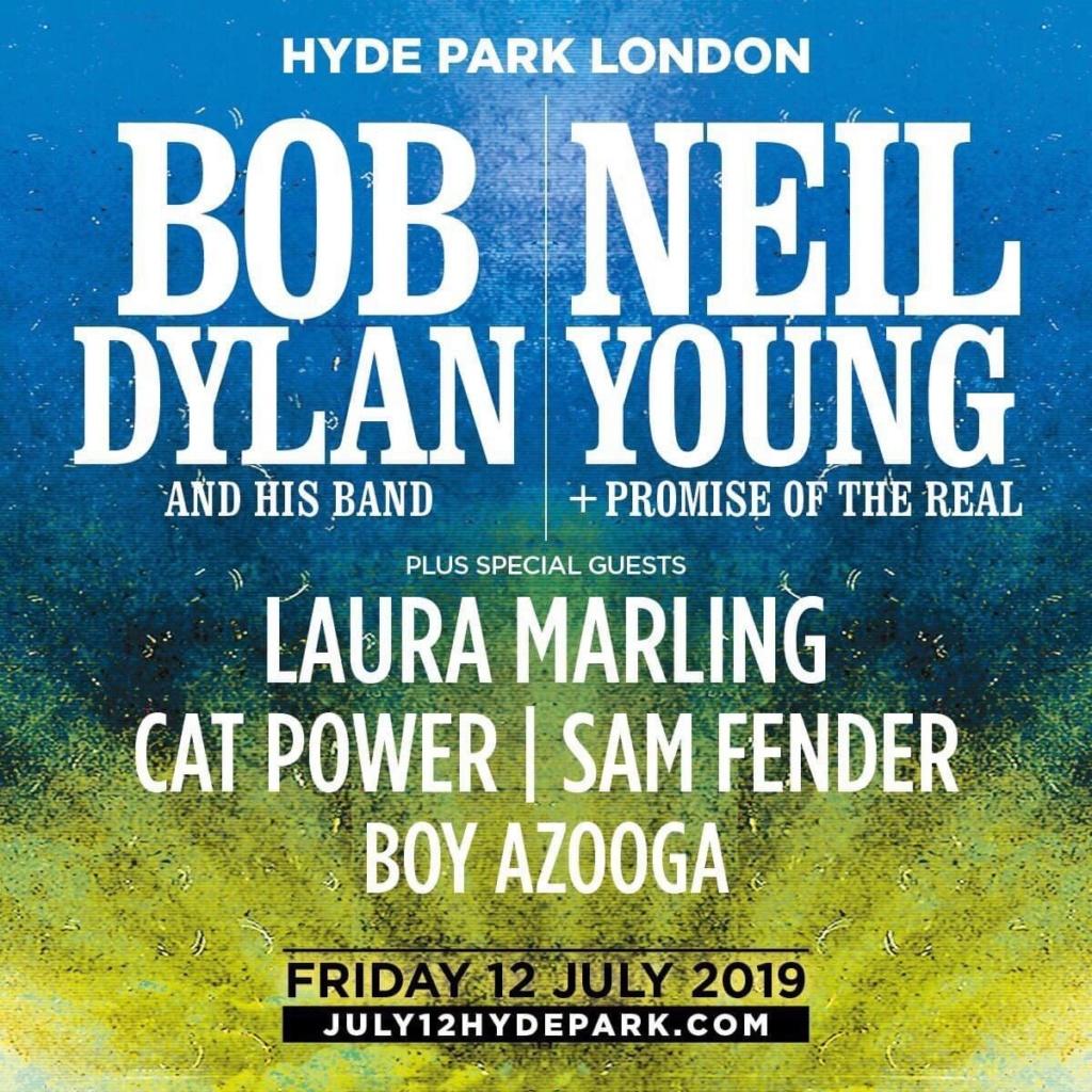 "7/12/19 - London, United Kingdom, Hyde Park, ""British Summer Time 2019 - Bob Dylan + Neil Young Concert"" 2142"
