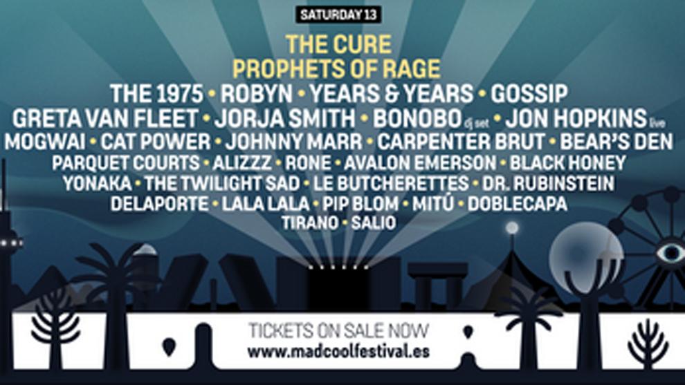 """7/13/19 - Madrid, Spain, Valdebebas-Ifema, """"Mad Cool Festival"""" 2143"""