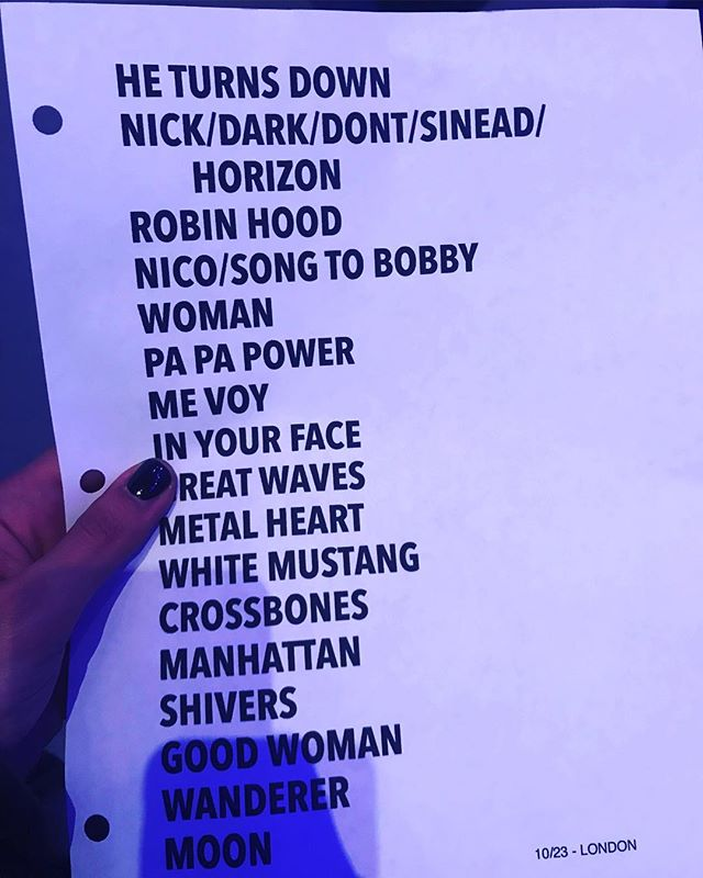 10/23/18 - London, England, The Roundhouse 4111