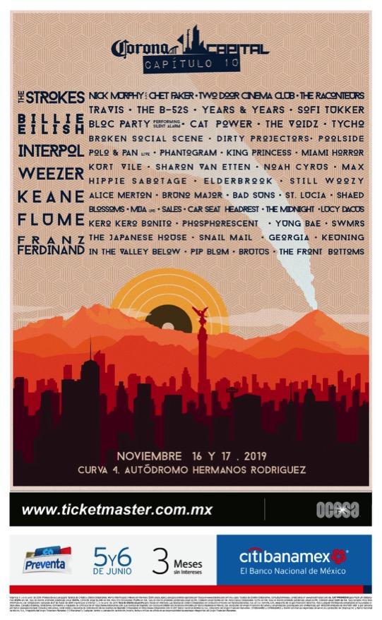 "11/16/19 - Mexico City, Mexico, Autodromo Hermanos Rodriguez, ""Corona Capital Festival"" 6515"