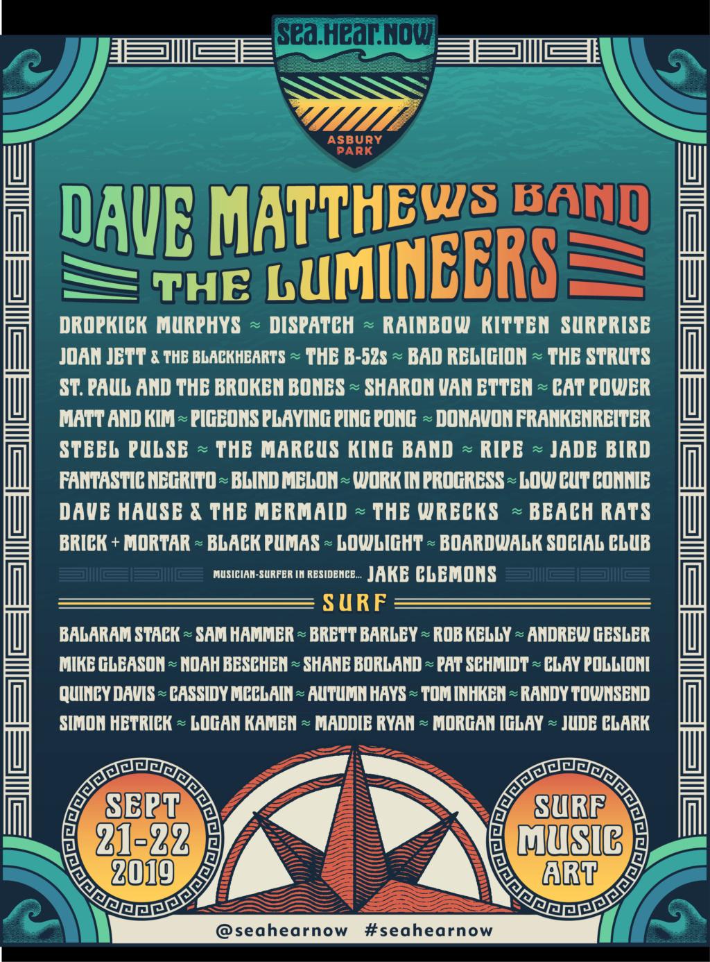 """9/21/19 - Asbury Park, NJ, North Beach, """"Sea. Hear. Now Festival"""" 693"""