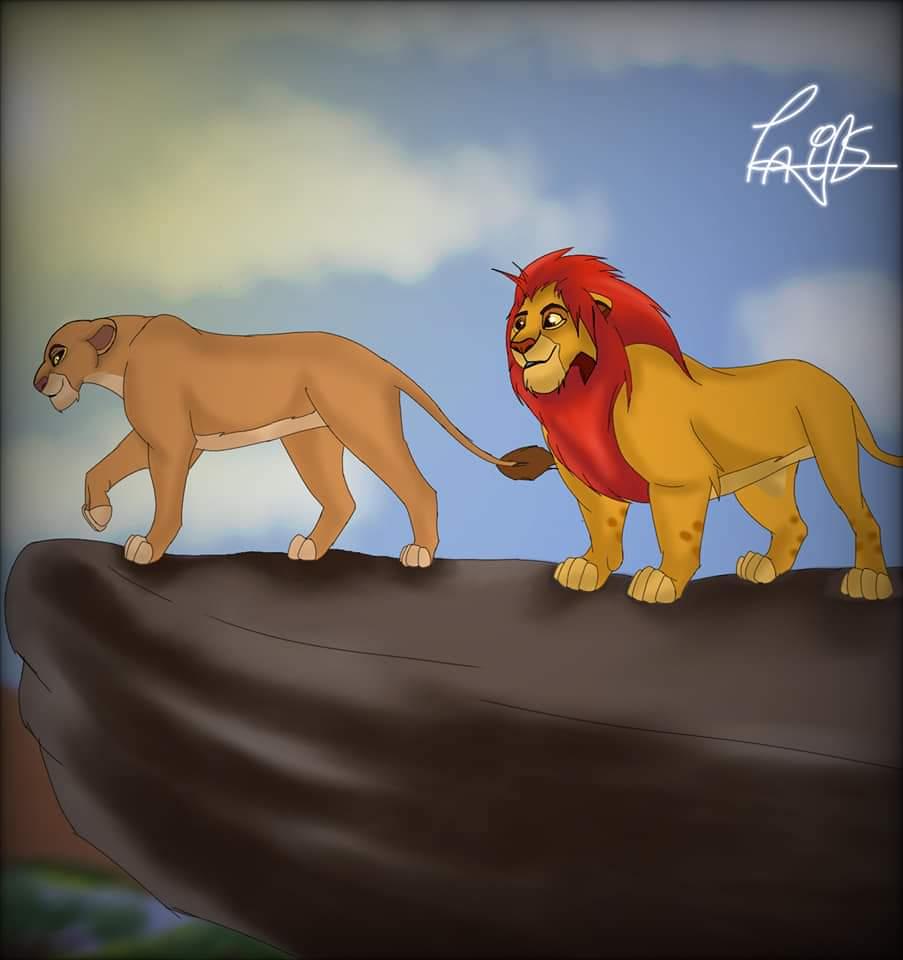 Mis dibujos del rey león  Fb_img13