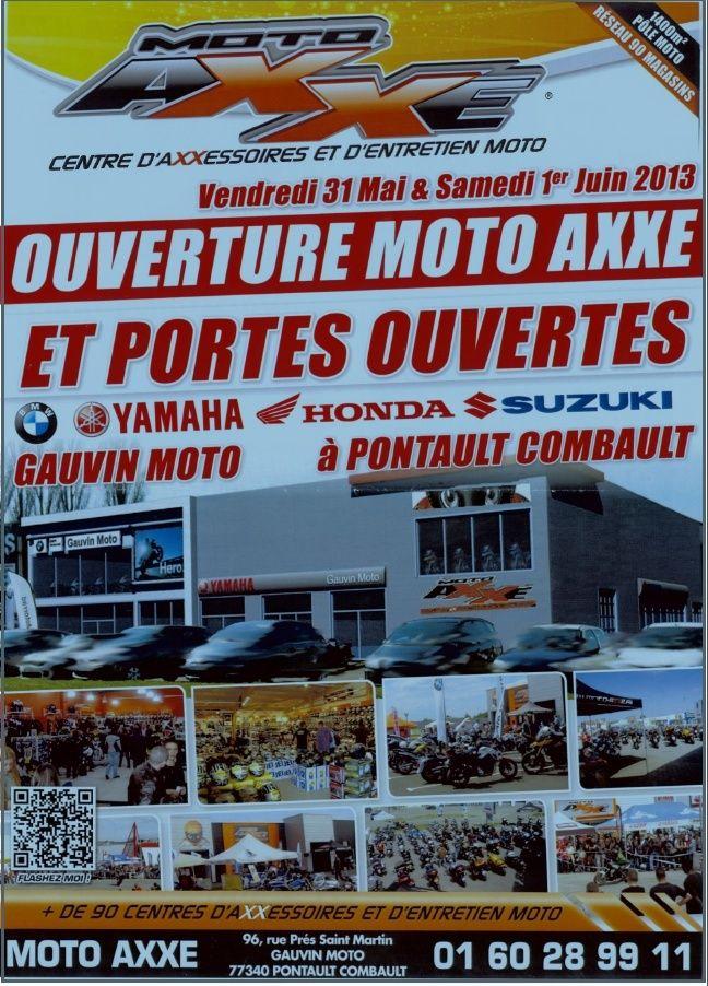 Ouverture Moto Axxe a pontault Captur11