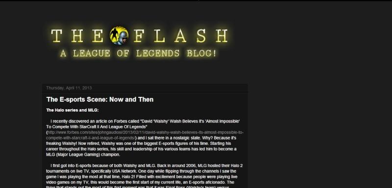 [The Flash] Introducing The Flash Thefla11
