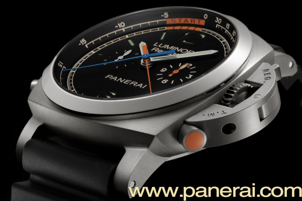 Communiqué de Presse : LUMINOR 1950 REGATTA 3 DAYS CHRONO FLYBACK TITANIO – 47mm - PAM00526 Captur35