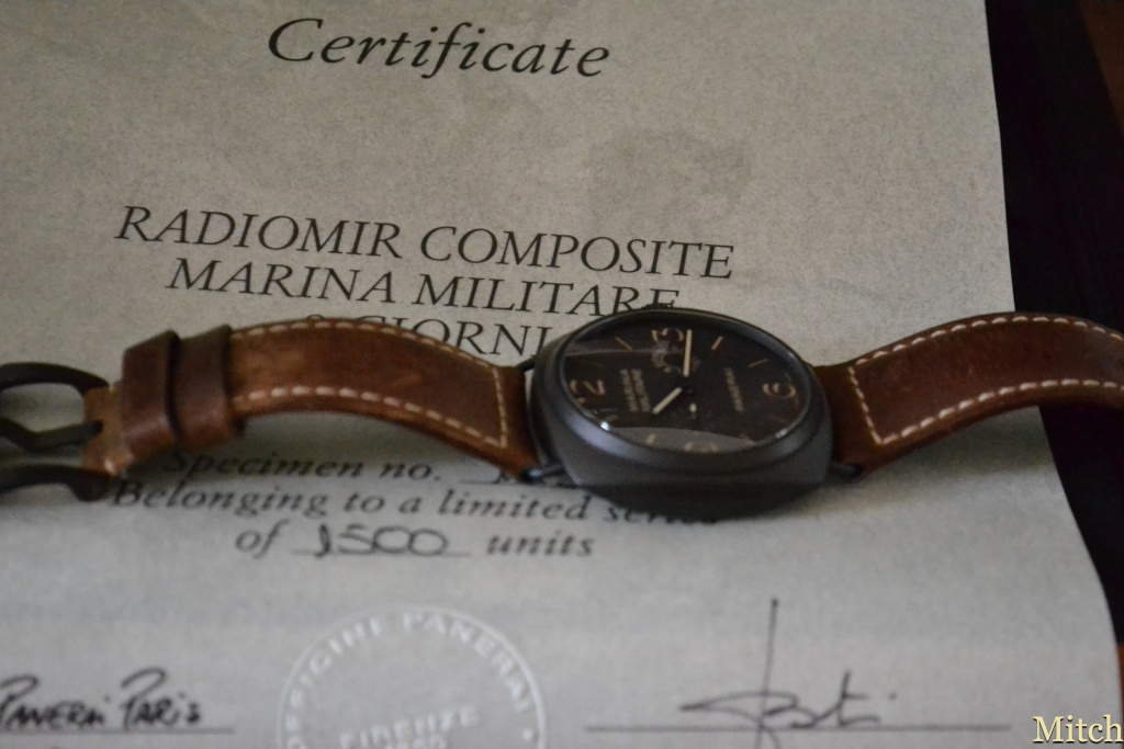 (Vendue) Radiomir Composite Marina Militare 8 Giorni - PAM 339 - Merci OPF Dsc_0611