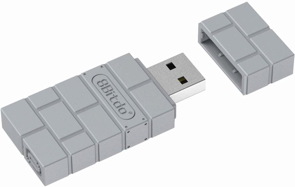 8Bitdo Usb Adapter PS1 Classic sur Belchine.net 8bitdo10