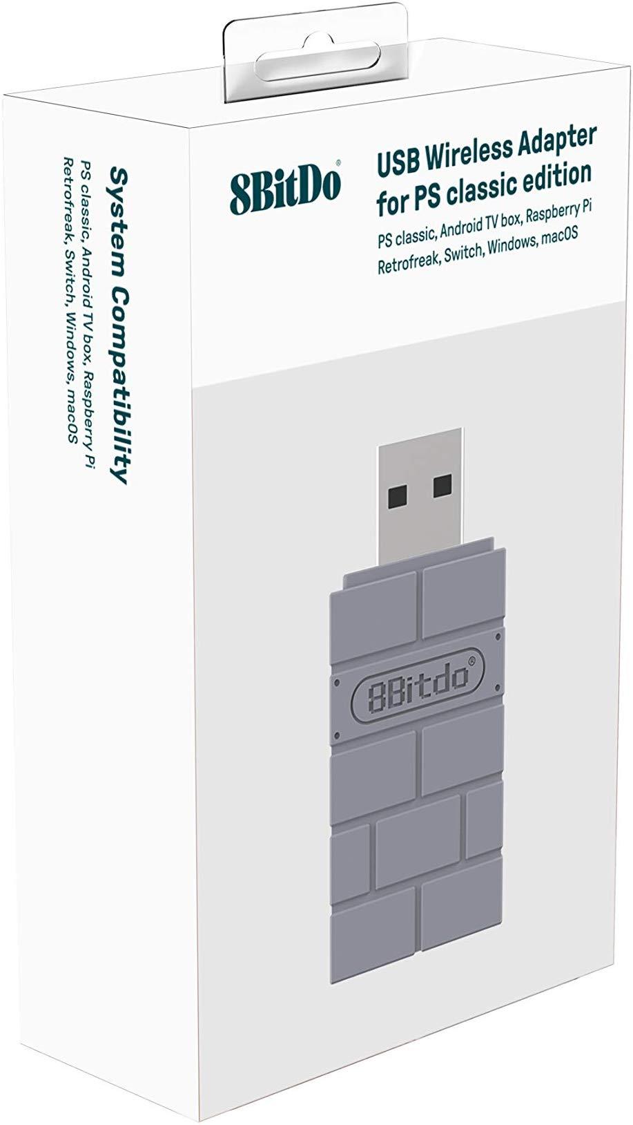 8Bitdo Usb Adapter PS1 Classic sur Belchine.net 8bitdo11