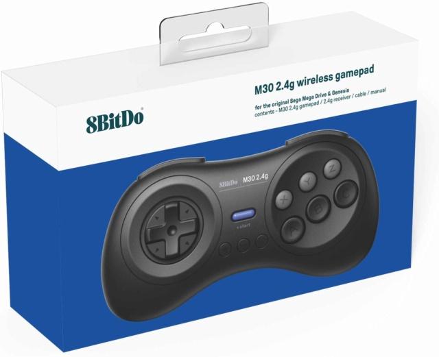 8Bitdo M30 Bluetooth, Retro Receiver Megadrive, M30 2.4Ghz sur Belchine.net 8bitdo37
