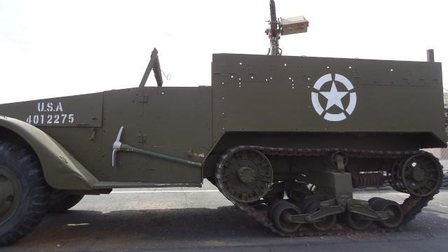 Half track U.S army Dsc04442