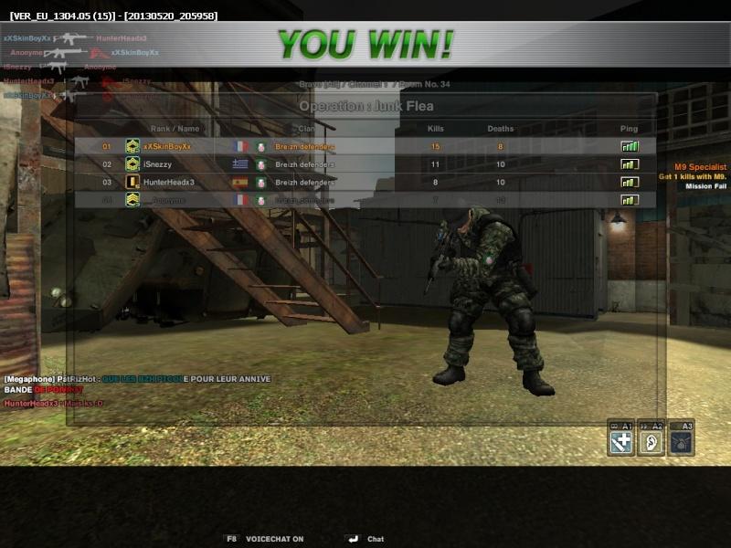 DEUX ANS <3 Combat13