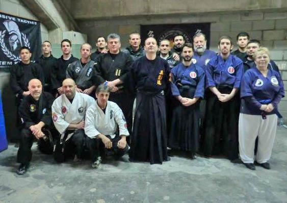 Stage de Shuriken Jitsu à Palamos (Espagne) le 28 avril 2013 Groupe10