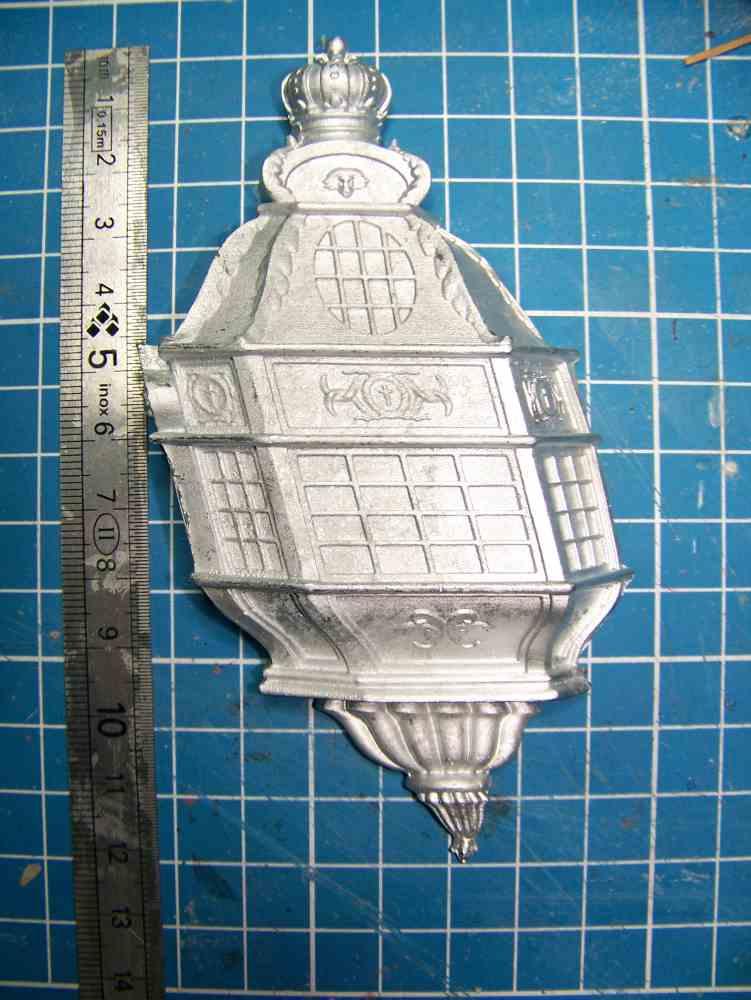 La Licorne ex-kit remaniée en scratch 1:72 fascicules Hachette - Page 19 100_1524
