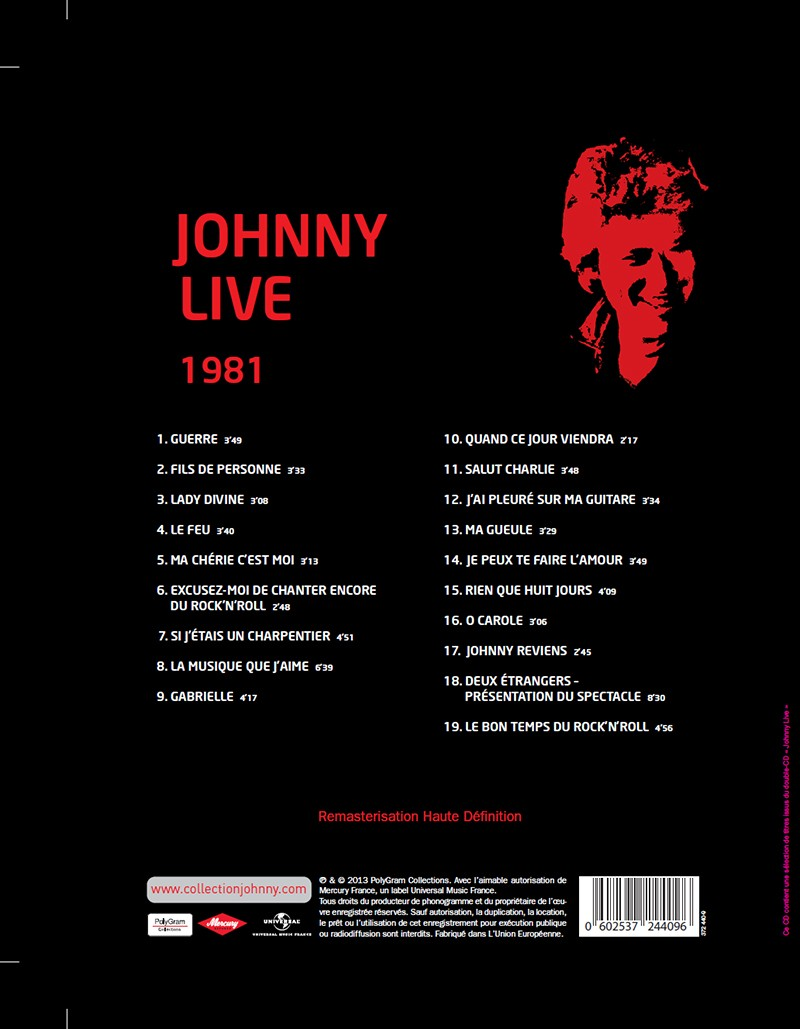 Volume 58 Johnny Live 1981 Jhcoll13