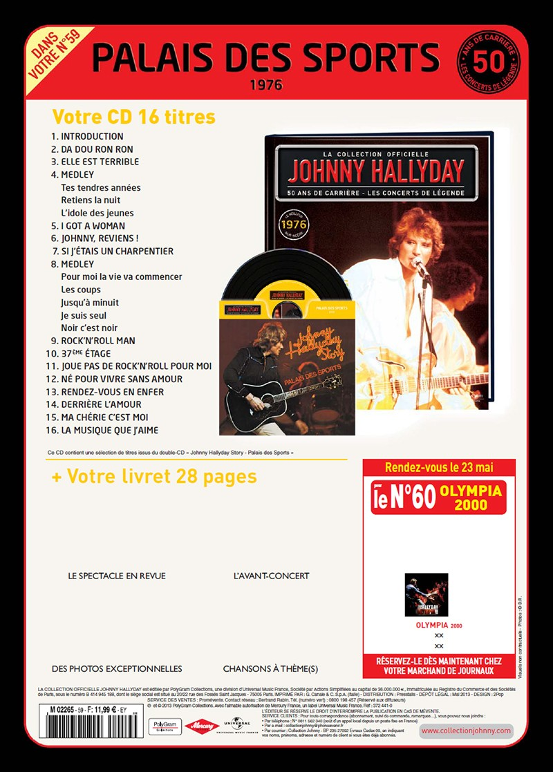 Volume 59 1976 Palais des Sports 1976 Jhcoll17