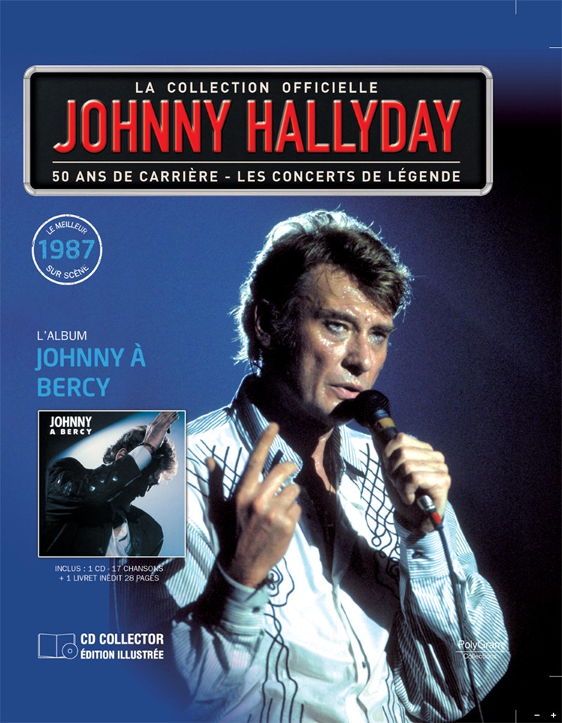 Volume 61 Johnny à Bercy 1987 Jhcoll31