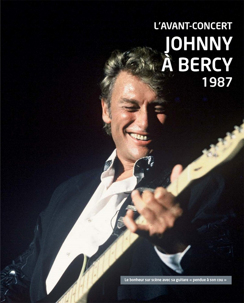 Volume 61 Johnny à Bercy 1987 Jhcoll33