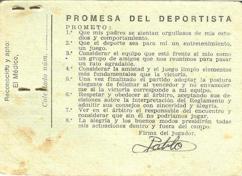 Fichas del Colegio, Expedientes, Deportivas, etc ... 92318610