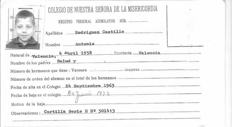 Fichas del Colegio, Expedientes, Deportivas, etc ... Ficha_13