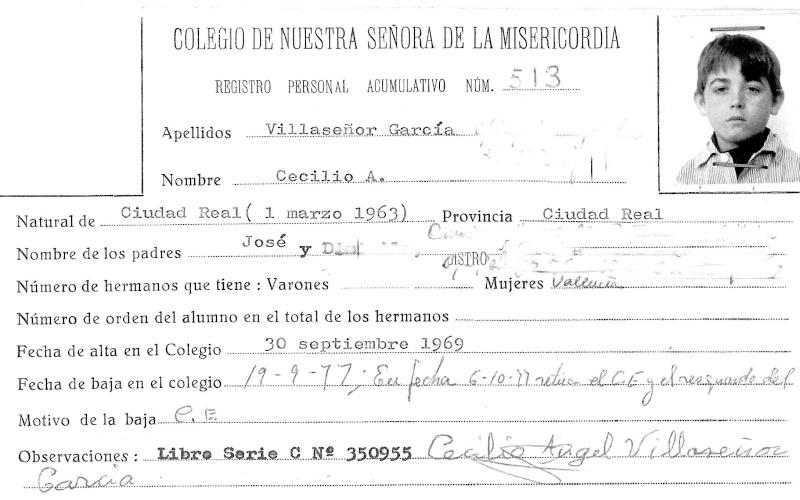 Fichas del Colegio, Expedientes, Deportivas, etc ... Ficha_17
