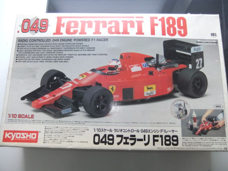 List of Kyosho RC Car Models using Cox Engines and conversions Dscf4210