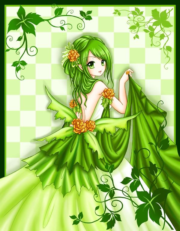 Avatars Couleur Verte 7adb8610