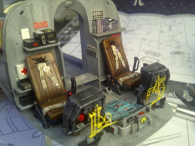 diorama hélicoptère MIL MI 8 Saint-34
