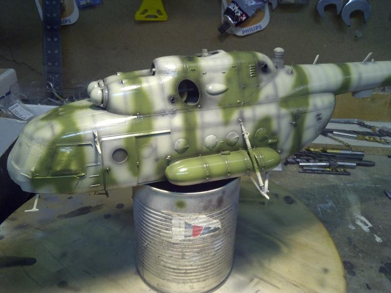 diorama hélicoptère MIL MI 8 Saint-36