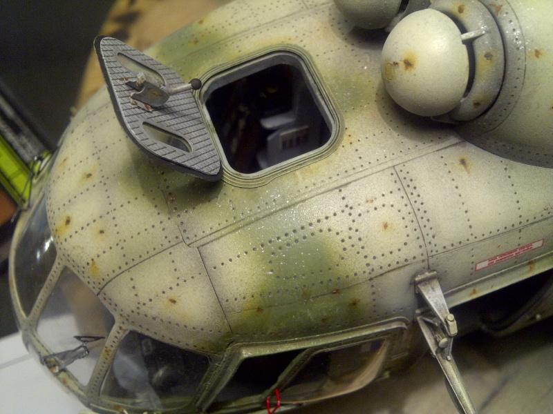 diorama hélicoptère MIL MI 8 Saint-41