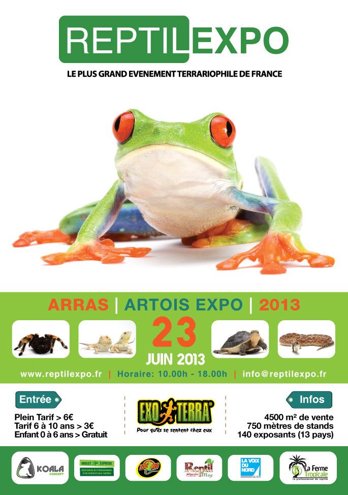 Bourse Reptilexpo à Arras 23 juin 2013 A2-aff10