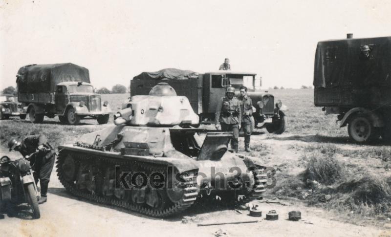 13e BCC et GBC 515 - 21 Mai 1940 H35-4011