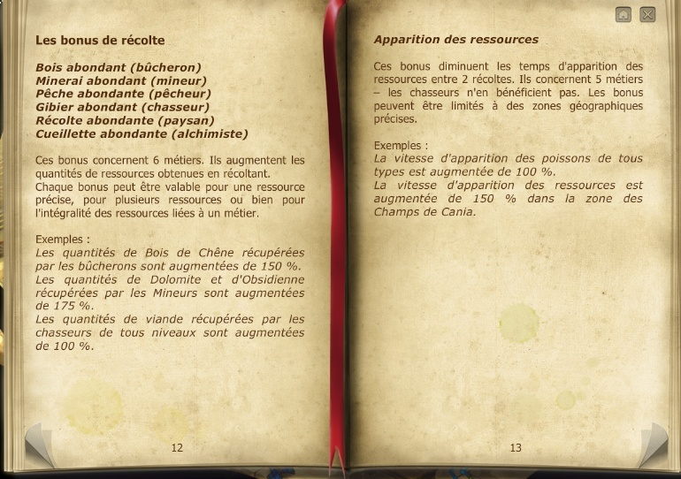 Les Archives de la guilde. 710