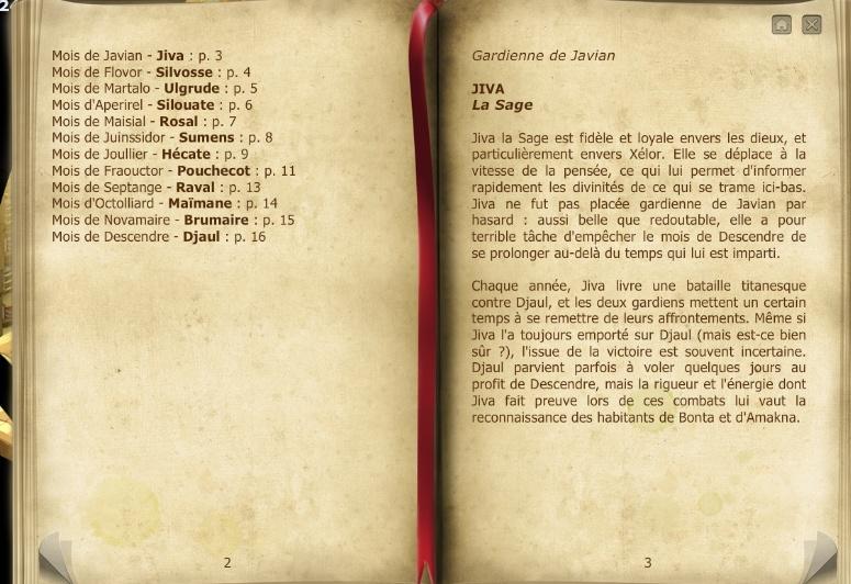 Les Archives de la guilde. Almana11