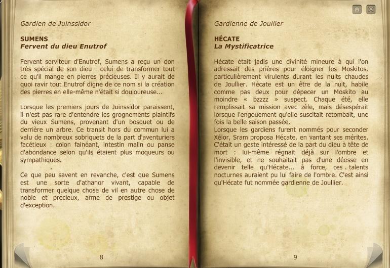 Les Archives de la guilde. Almana14