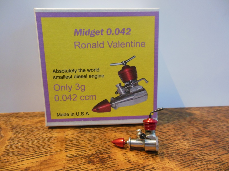 The smallest engine in the world Rv_sma11