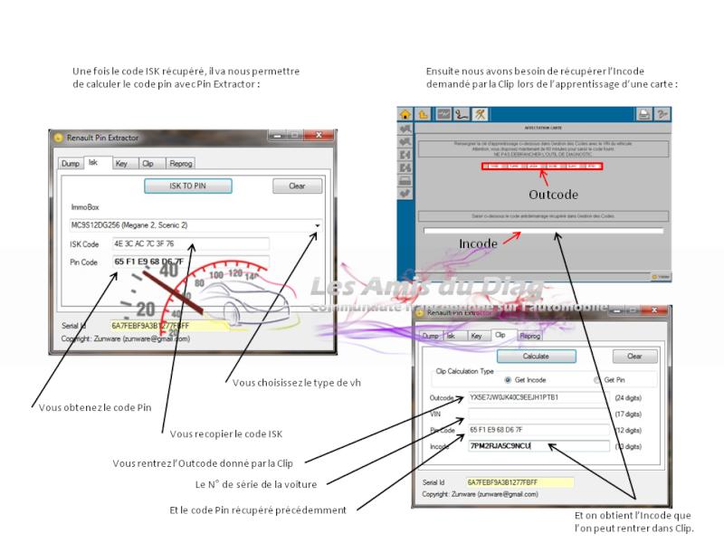 Tuto de récupération du code ISK dans l'UCH avec Renault Pin Extractor  Slide310