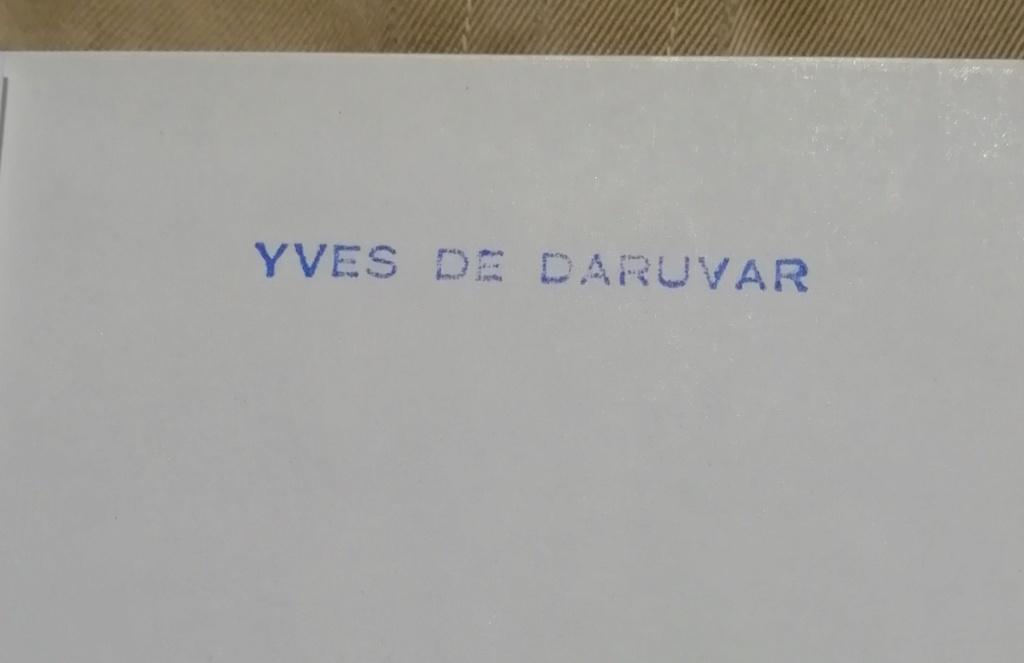Souvenirs d'Yves de Daruvar  RMT Compagnon de la Libération Img_4454