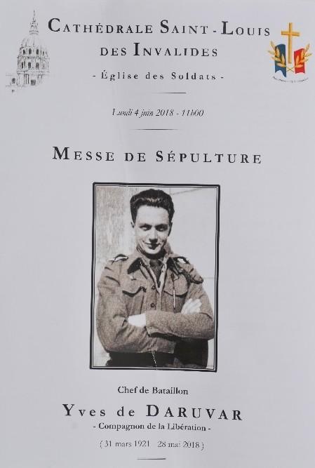 Souvenirs d'Yves de Daruvar  RMT Compagnon de la Libération N3mbl511
