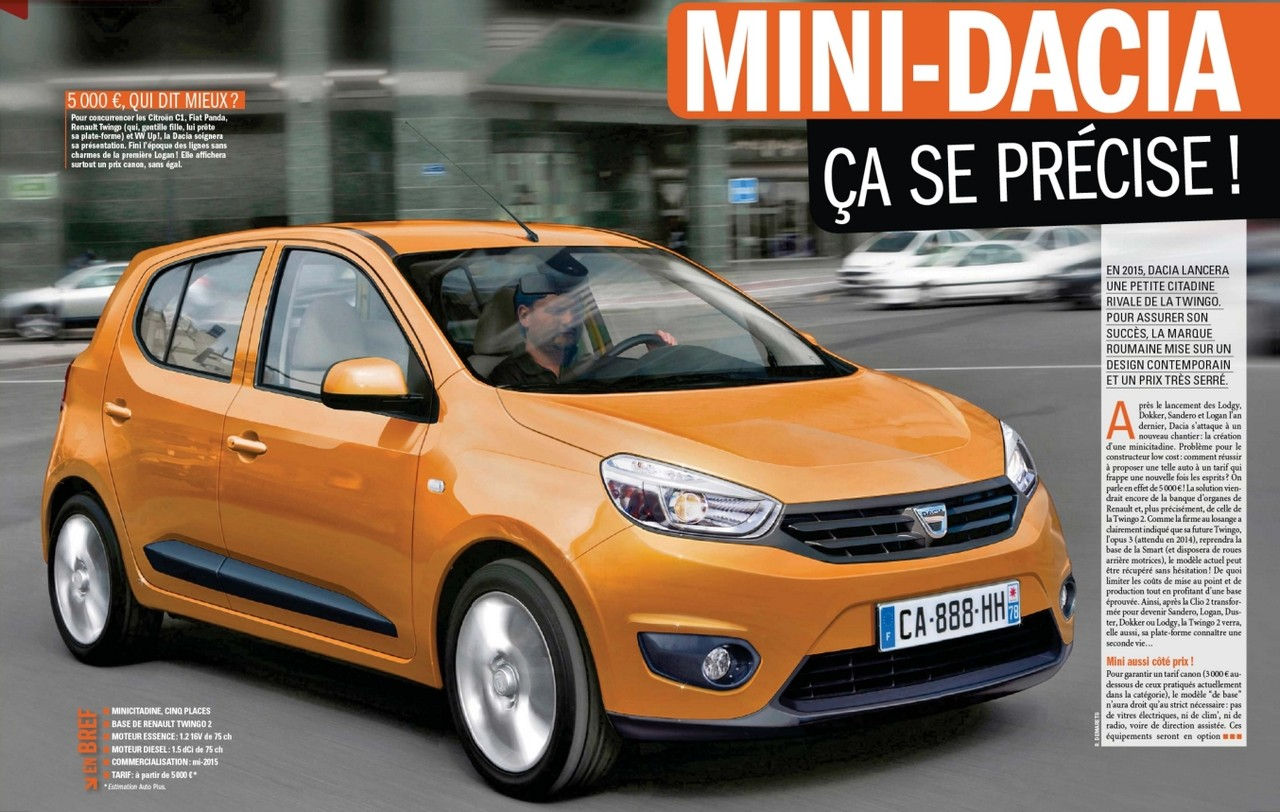 2015 - [Renault] Kwid [BBA] (Inde) [BBB] (Brésil) - Page 2 Dacia11