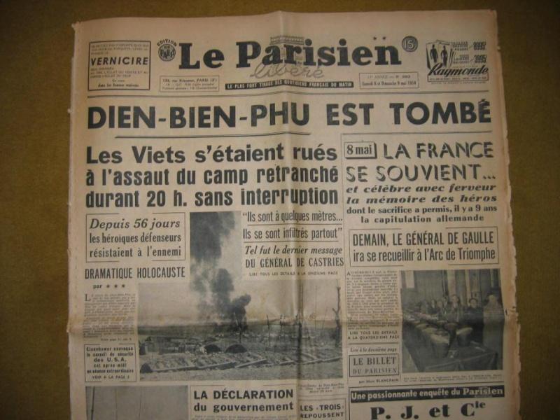 Diên Biên Phù fin du sacrifice le 7 mai 1954: hommage aux morts tombés depuis le 20 novembre 1953 46333810