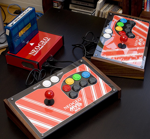 Neo Geo consolized bien faite Z110