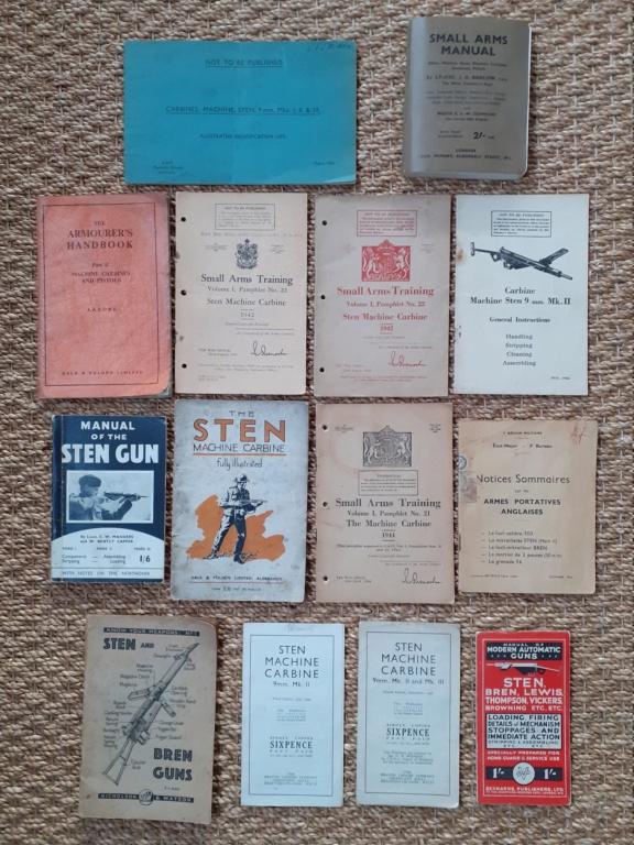 Les livrets / notices du PM STEN 20201212