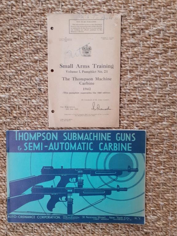 Les livrets / notices / TM / FM du  PM THOMPSON 20201213