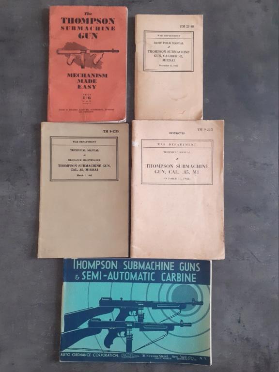 Les livrets / notices / TM / FM du  PM THOMPSON 20210120