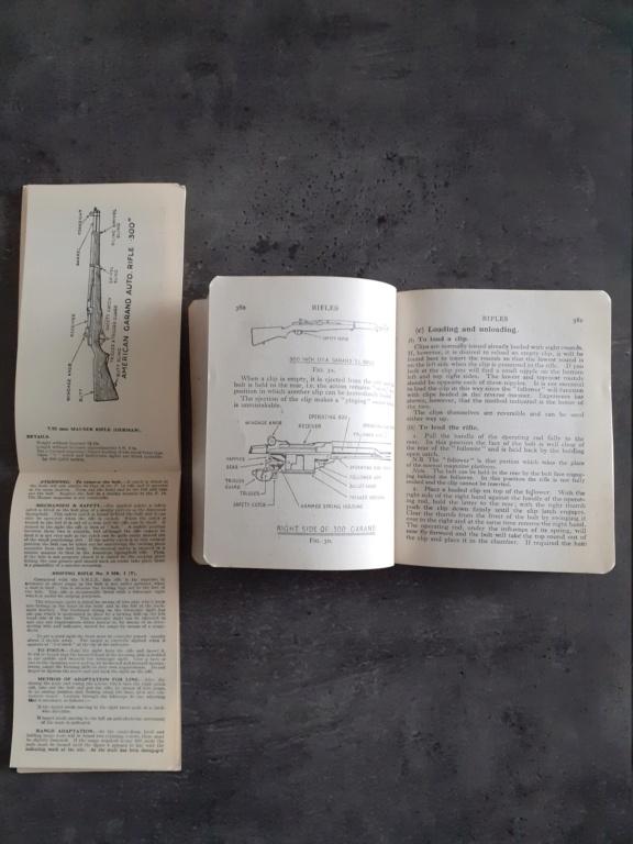 Les livrets manuels notices FM /TM du garand M1 rifle 20210130