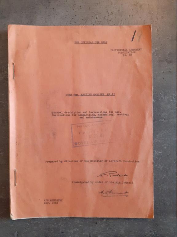 Les livrets / notices du PM STEN 20210131