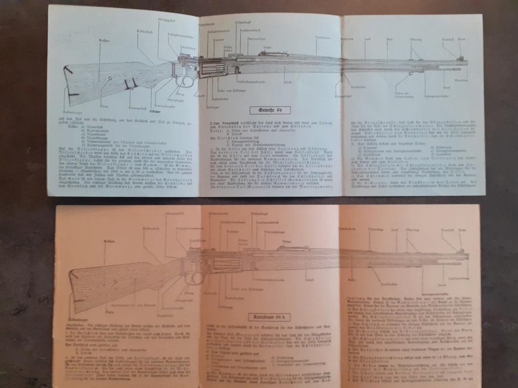 Les livrets  manuels  du gewehr / karabiner 98k 20210143