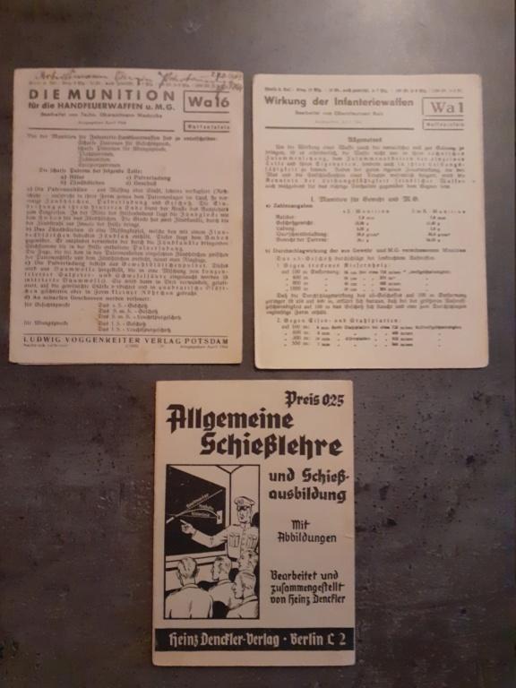 Les livrets  manuels  du gewehr / karabiner 98k 20210147