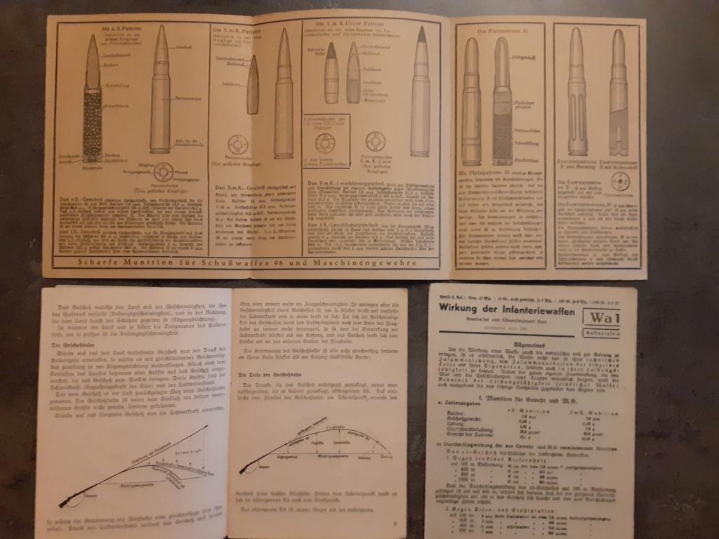 Les livrets  manuels  du gewehr / karabiner 98k 20210148