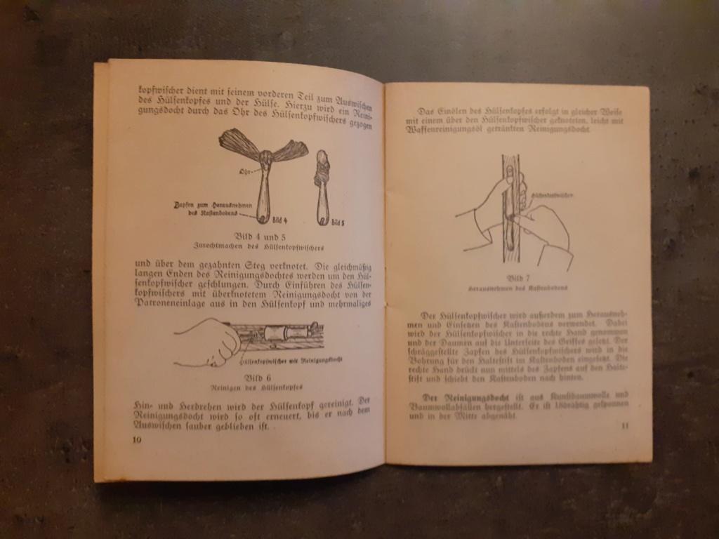 Les livrets  manuels  du gewehr / karabiner 98k 20210150
